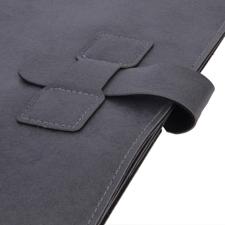 Personalized Work Folio - Grey