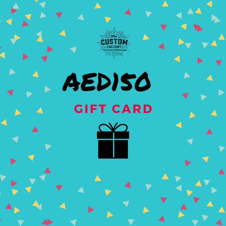 Custom Factory Gift Card - AED150