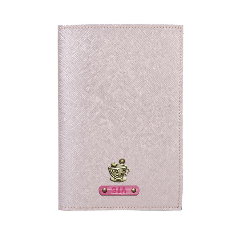 Personalized Passport Cover - Rose Gold