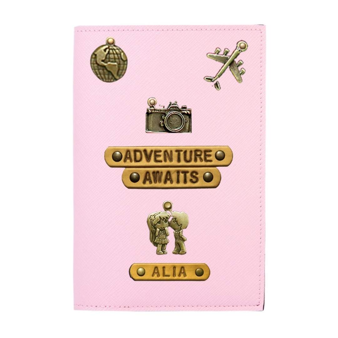 Customized Passport Cover - Adventure Awaits