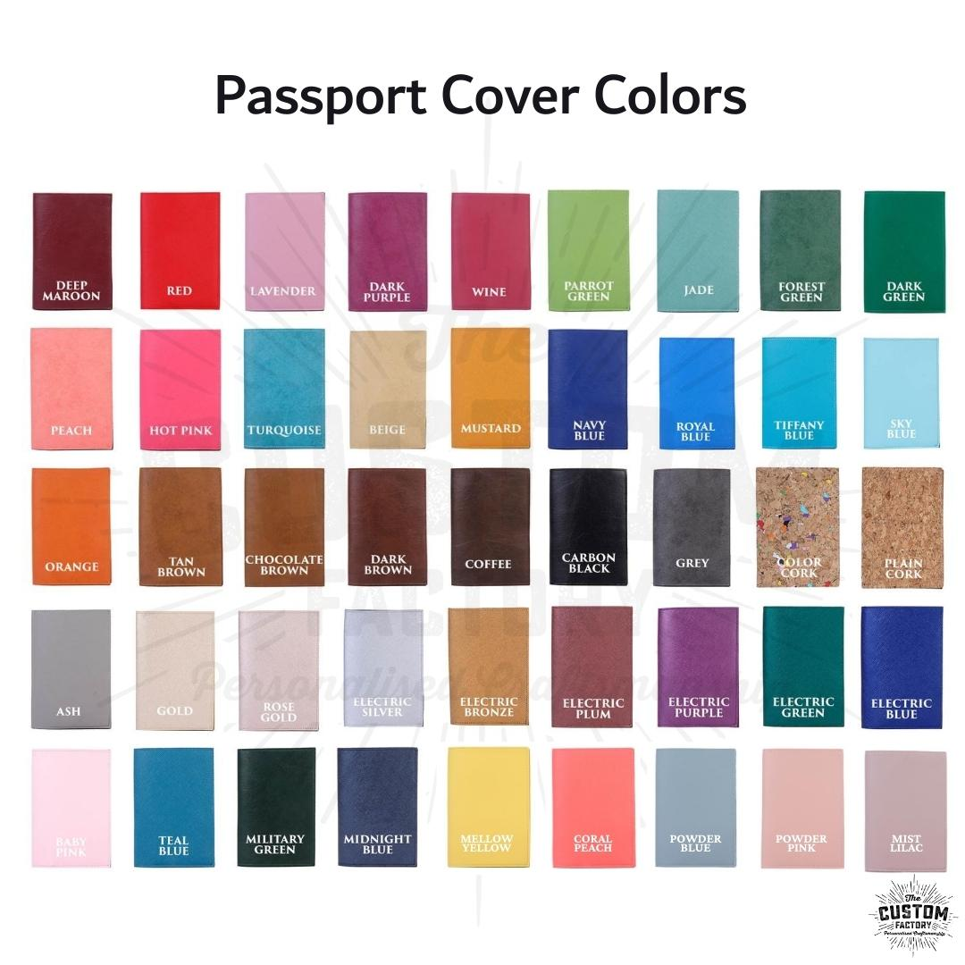 Passport Covers for Family - Set of 5 Passport Covers