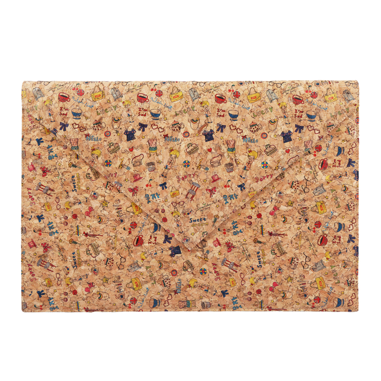 Doodle Cork Laptop Cover 13 inch