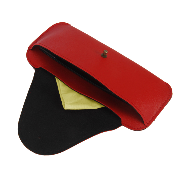 Personalized Sunglass Cover - Red