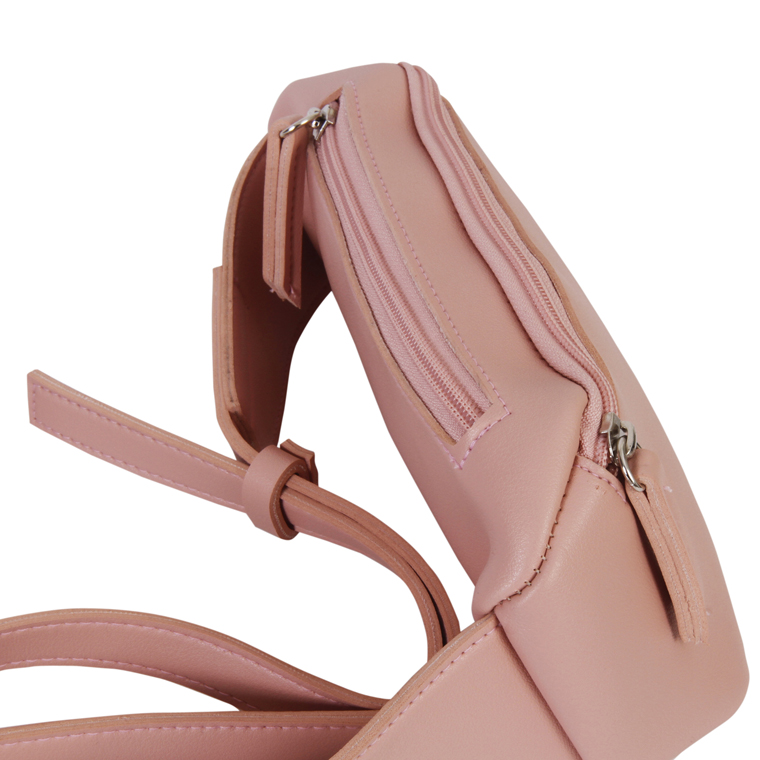 Personalized Crossbody Bag - Salmon Pink