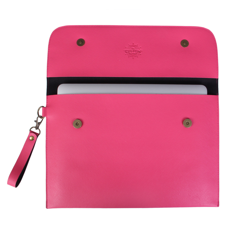 Personalized Laptop Cover 13 inch - Hot Pink