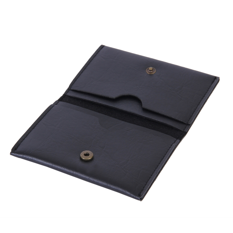 Personalized Business Card Holder - Carbon Black