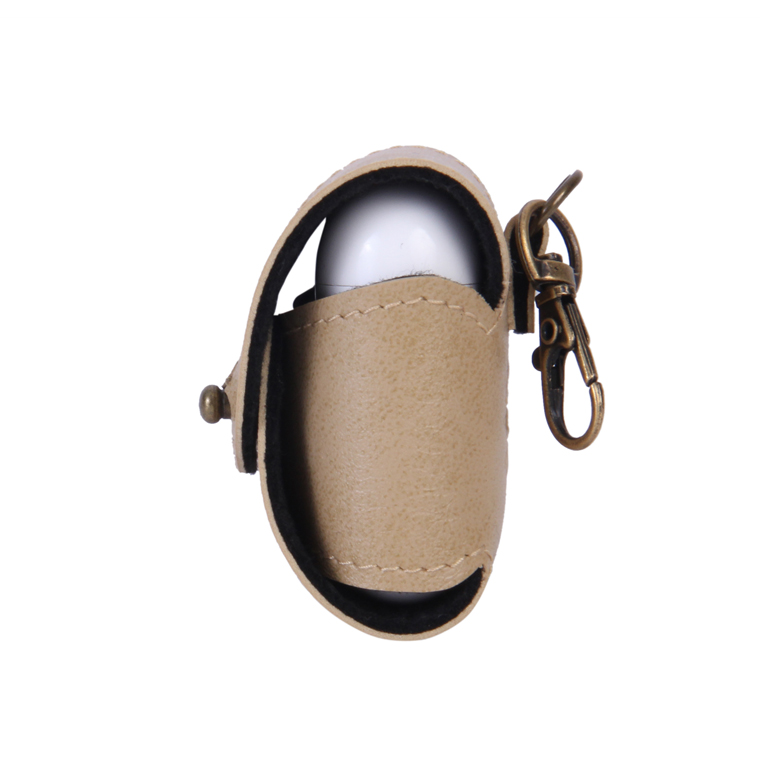 Personalized AirPod Cover - Beige