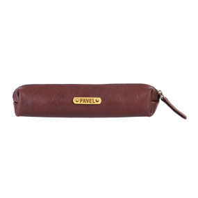 Personalized Medwakh Pouch - Dark Brown