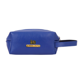 Personalized Toiletry Pouch - Navy Blue