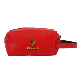 Personalized Toiletry Pouch - Red