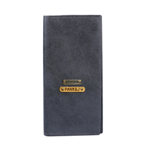 Personalized Travel Wallet - Grey