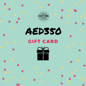 Custom Factory Gift Card - AED350