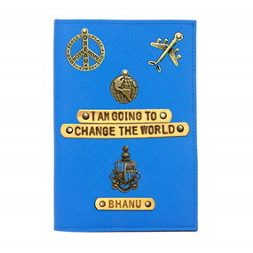 Personalised Passport Cover - Change the World