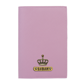 Personalized Passport Cover - Lavender