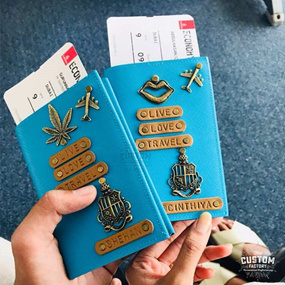 Twinning Couples Passport Cover