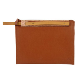 Chestnut Brown Ipad Pro Sleeve