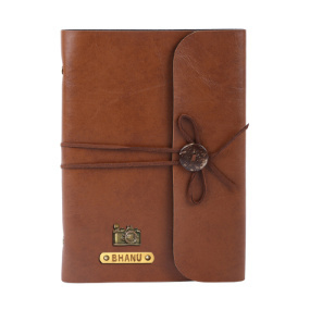 Personalized Journal - Chocolate Brown