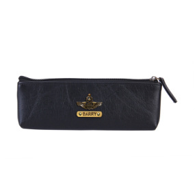 Personalized Pencil Pouch - Carbon Black