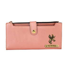 Personalized Ladies Wallet - Rose Gold