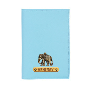 Personalized Passport Cover - Sky Blue