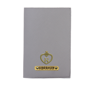 Personalized Passport Cover - Ash