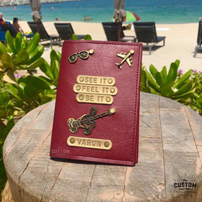 Maroon Bestseller Passport Cover