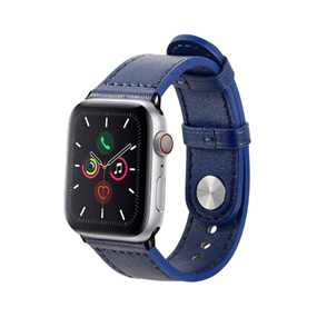 Customized Apple Watch Band 42/44mm - Navy Blue