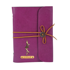 Personalized Journal - Dark Purple