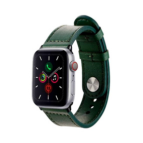 Personalized Apple Watch Band 42/44mm - Military Green