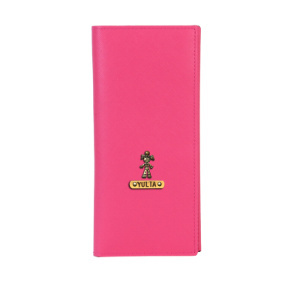 Personalized Travel Wallet - Hot Pink