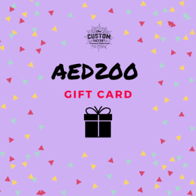 Custom Factory Gift Card - AED200