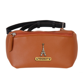 Personalized Crossbody Bag - Choco Brown