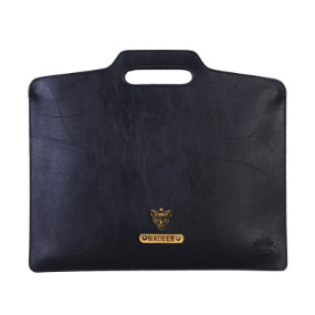 Personalized Document Holder - Carbon Black
