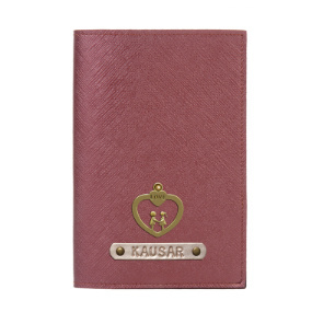 Personalized Passport Cover - Electric Plum