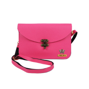 Personalized Women's Clutch - Hot Pink