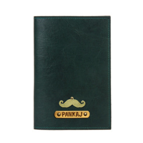 Personalized Passport Cover - Military Green